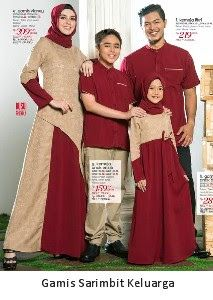 Butik Baju Muslim Terbaru 2018: Gamis Sarimbit Keluarga