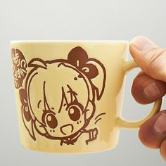 Couldn't make it to Comic Market 85 in Japan to get the latest doujin goods from some of Japan's most famous creators? Don't worry, we've got you covered!  This cute mug features TOM Special Creator Ech's original character, Shinchoku-chan, and she's here to motivate you! The mug features a different illustration of the chibi Shichoku-chan on the front and back. If you're having trouble with you...