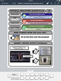 """Ok here's my updated format. Your lessons inspired me to make mine better. Physical Education Lesson Plans, Pe Lesson Plans, Pe Lessons, Inspire Me, How To Plan, How To Make, Physics, Kindergarten, Student"