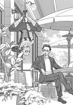 Spidey and Tony