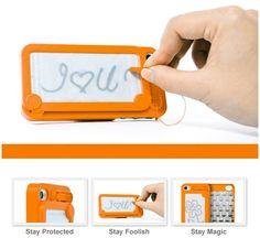 etch-a-sketch iphone case.