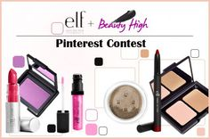 Do you love using Pinterest to show off your favorite beauty inspirations? Um, in case you haven't noticed, so do we. And we want to reward your countless hours pinning and re-pinning, so we teamed up with e.l.f  cosmetics to bring you a special beauty prize! Winning is easy, all you need to do is recreate a Read More >>