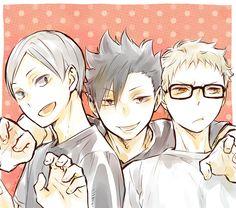 Lev, Kuroo & Tsukishima | Haikyuu!!
