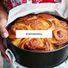 Bostonkakku Dairy Free Recipes, Baking Recipes, Cookie Recipes, No Bake Desserts, Vegan Desserts, Baking Bad, Vegan Gains, Sweet Bakery, Just Eat It
