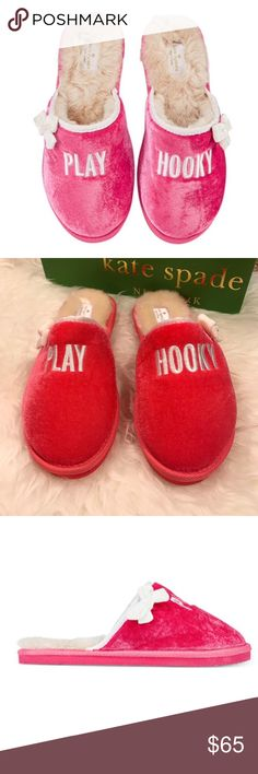 Spotted while shopping on Poshmark: Kate Spade Play Hooky Slippers! #poshmark #fashion #shopping #style #kate spade #Shoes