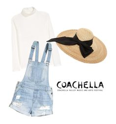 """""""Coachella Inspired #3"""" by edgeofmywishes on Polyvore featuring H&M and Kreisi Couture"""