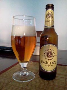 Belenos es el dios del sol y del fuego según la mitología celta-asturiana. Cerveza elaborada en Bélgica, aunque se indique como cerveza asturiana. Cerveza artesanal, de estilo abadía, de fermentación alta y segunda fermentación en botella. De profundo color caoba, presenta una espuma cremosa y ambarina, aroma a malta tostada y caramelo. En boca con toques afrutados y un finísimo carácter amargo que la hace apetecible.