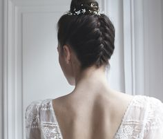 tendances coiffure mariage 2016 Trendy Wedding blog The Reporthair