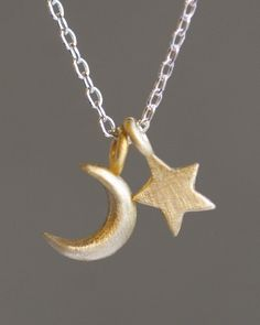 Moon & Star Necklace.
