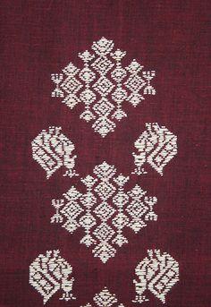 Kasuthi design for a Salwar | Flickr - Photo Sharing!