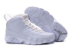 6fb9d324dce Cheap Find Nike Air Jordan 9 Phat Retro   Silver Anniversary   White And  Metallic Silver Shoes Sale Online Store