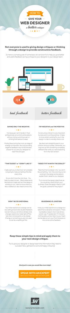 How to Give Your #WebDesigner a Better Critique