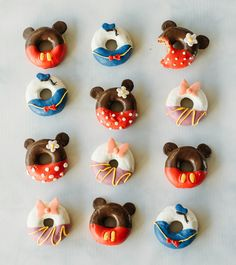 Adorable Disney donuts