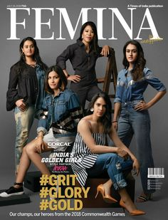 Mithali Raj, English Magazine, World Cricket, Vintage Sportswear, Commonwealth Games, Golden Girls, Teen Fashion Outfits, Cover Pages, Breast Cancer Awareness