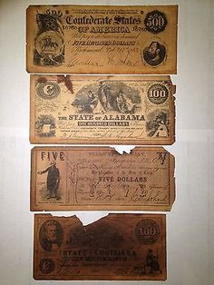 Confederate Money - I have some going to be passed down to me one day!