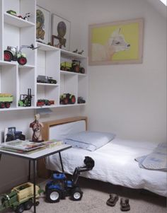"""This playful boysroom is from our feature """"Northern Delights"""""""