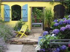 Mediterranean-Inspired Courtyards | Outdoor Spaces - Patio Ideas, Decks & Gardens | HGTV