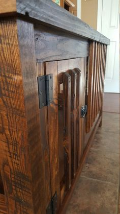 Reclaimed wooden dog kennel by JosephRayDesigns on Etsy