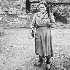 Mulher a fiar, Resende, Panchorra, 1955 via OAPIX