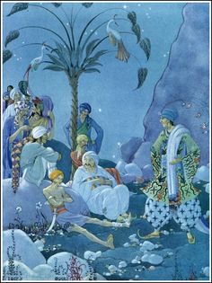 Ali Baba and the forty thieves. Virginia Frances Sterrett (1900-1931) Arabian Nights