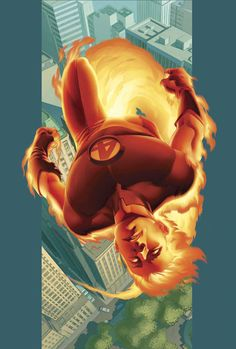 Ultimate Fantastic Four - The Human Torch by Stuart Immonen