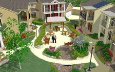 Eco-friendly cohousing development underway near White Rock Lake Co Housing, Green News, Green Building, Home Buying, Homesteading, Acre, Eco Friendly, Mansions, House Styles