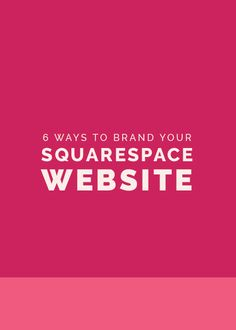 Squarespace is a great website option for business owners who want a  lovely, professional website that's mobile friendly and easy to update.  I chose Squarespace for the Elle & Company website and I highly recommend it to all of my design clients becaus
