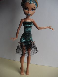 Monster High Clothes for Nefera de Nile by MonstaFashion on Etsy, €6.55
