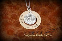 geneology tree pendant