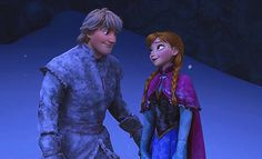 "Better yet...WHY DOESN'T KRISTOFF RECOGNIZE ANNA?! | 15 Questions Disney Forgot To Answer In ""Frozen"" I mean, COME ON, PEOPLE. How can he not remember the stuff like the white streak in her hair and the older sister with ice powers? He clearly remembers Grandpabbie fixing Anna, so why doesn't he remember her?"