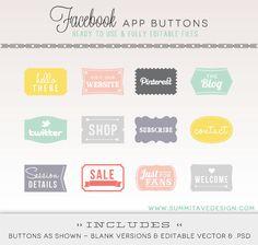 FB timeline app buttons // I need to figure out how to,use my tabs Timeline App, Facebook Timeline, Photography Marketing, Photography Business, Social Media Icons, Social Media Tips, Blog Design, App Design, Portfolio Web
