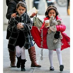 SURI CRUISE Fashionista In The Making#suri #suricruise #fur #tomcruise #katieholmes #stockings #fur #leggins #boots #baby #pink #princess #pretty #girl #skirt #dress #fashionkids #fashion #stylish #style... - Celebrity Fashion