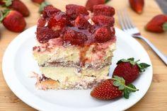 Strawberry Tiramisu   Hadia's Lebanese Cuisine