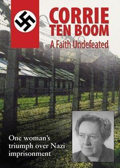 CORRIE TEN BOOM - A Faith Undefeated - one woman's triumph over Nazi imprisonment DVD