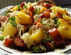 Potato Recipes, Baked Potato, Potato Salad, Pork, Food And Drink, Potatoes, Menu, Dinner, Baking