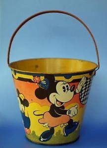 Cute seaside bucket by Happynak disney mickey mouse