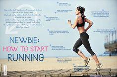 How to Start Running Infographic