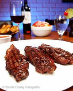 fotografia de productos carne steak