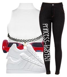 """""""*"""" by princess-kia54321 ❤ liked on Polyvore featuring WearAll, adidas and Wet Seal"""