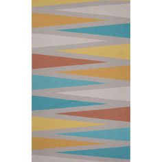 Traditions Made Modern Cotton Flat Weave Multi Area Rug