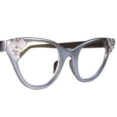 Kosaire Fashion Translucent Frameless Cat Eye Sunglasses Unisex