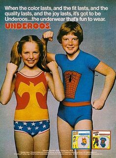 Wonder Woman Underoos. I LOVED mine!!! Got happy seeing this reminder of my fave outfit as a kid! Lol