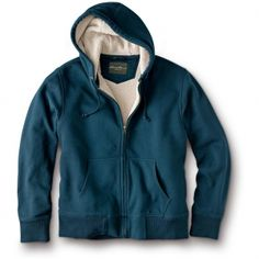 Eddie Bauer Men's Classic Fit Cabin Sherpa Fleece-Lined Hoodie in Ultimate Gift Guide 2012 from Eddie Bauer on shop.CatalogSpree.com, my personal digital mall.