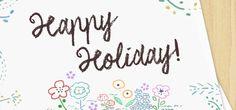 言葉の端にお花を描いてみよう!華やいだり、アクセントにもなるよ。 こんにちは!デザイナーの戸田江美です。 もうすぐクリスマス。その後にはお正月、バレンタイン…と次々イベントが待っています。 イベントごとにプレゼントを渡す […