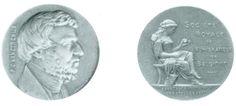 van der Chijs, Pieter Otto (1802-1867), professor at the university of Leiden; author of De munten der Nederlanden van de vroegste tijden tot aan de Pacificatie van Gend (1576), 9 vol., 1850-1866; token by Lemaire 1895 (RBN 1993 177)