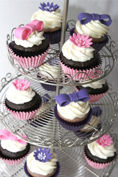 Daisy Duck Birthday Cupcakes
