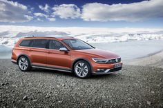 2016 Volkswagen Pat Alltrack Front Side The Was Introduced As A