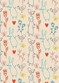 Patterns for wallpapers on Behance