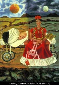 Frida Kahlo is best known for the pain that permeated her life and her art. Born in Mexico in she endured personal tragedies, a stormy marriage to fellow artist Diego Rivera, and physical disability throughout her relatively short life. Frida E Diego, Diego Rivera Frida Kahlo, Frida Art, Frida Kahlo Artwork, Kahlo Paintings, Oil Paintings, Robert Rauschenberg, Edward Hopper, Mexican Artists
