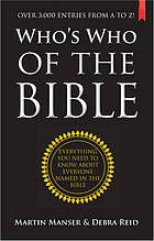 Who's who of the Bible #Bible#Biography March 2014